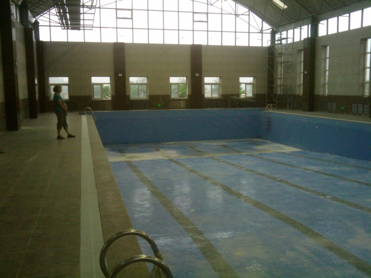 Swimming Pool at Dalian American International School