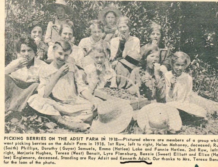 1918 The Adsit farm in Clifton Park New Yor