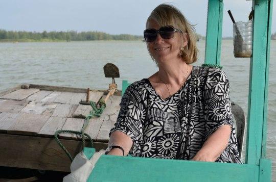 Narda the boat driver