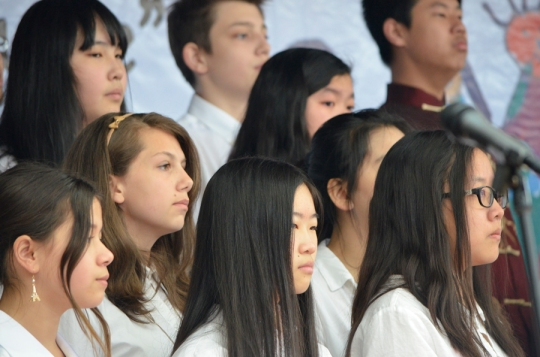 Dalian American International School chorus