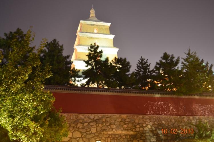 Xian Big Wild Goose Pagoda, Da Ci'en Temple