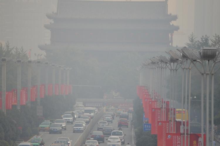 smomggy Xi'an on a good day