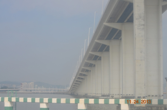 Governor Nobre de Carvalho Bridge to the Cotai casinos, Macau-Taipa Bridge