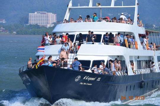 ferry to Krabi