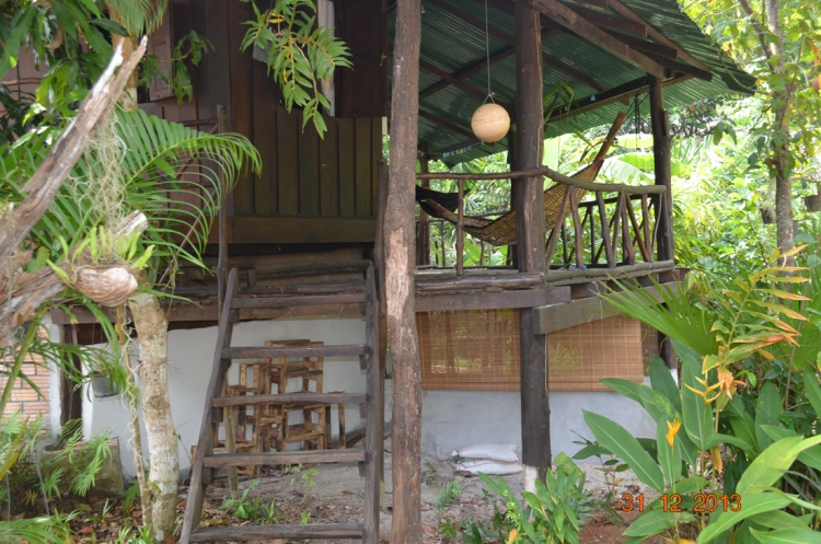 our home in Ao Nang