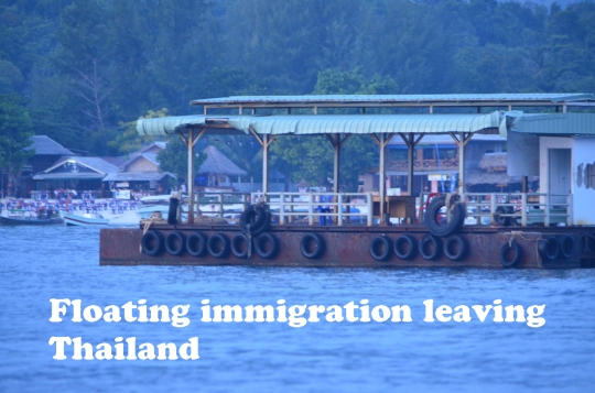Thailand immigration dock