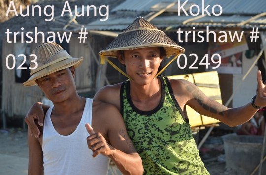 trishaw drivers