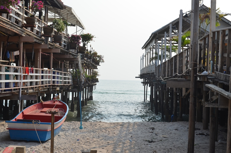 jetty in Hua Hin