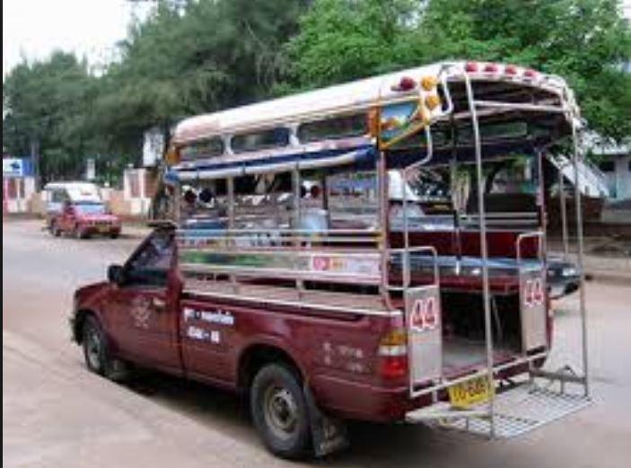 Songthaew, taxi truck