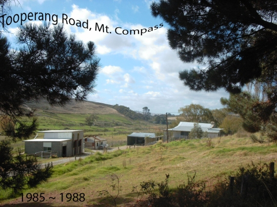 our home in Mt Compass South Australia from 1986 - 1988