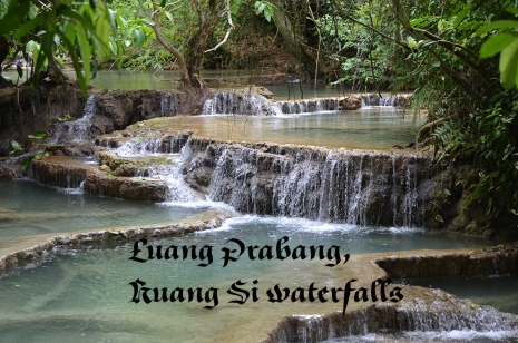 Luang Prabang, Kuang Si waterfalls,