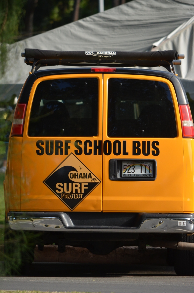Surf School Bus