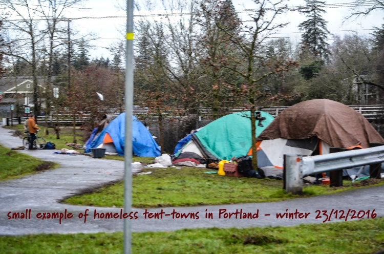 Portland's homeless - Portlandia's other people