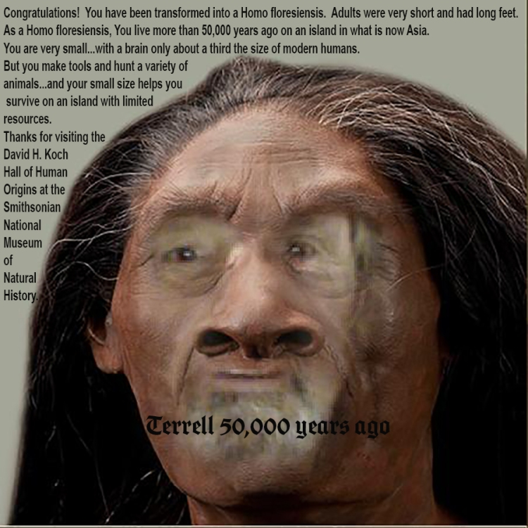 Saint Terrell of the cave - 50,000 years ago in your backyard