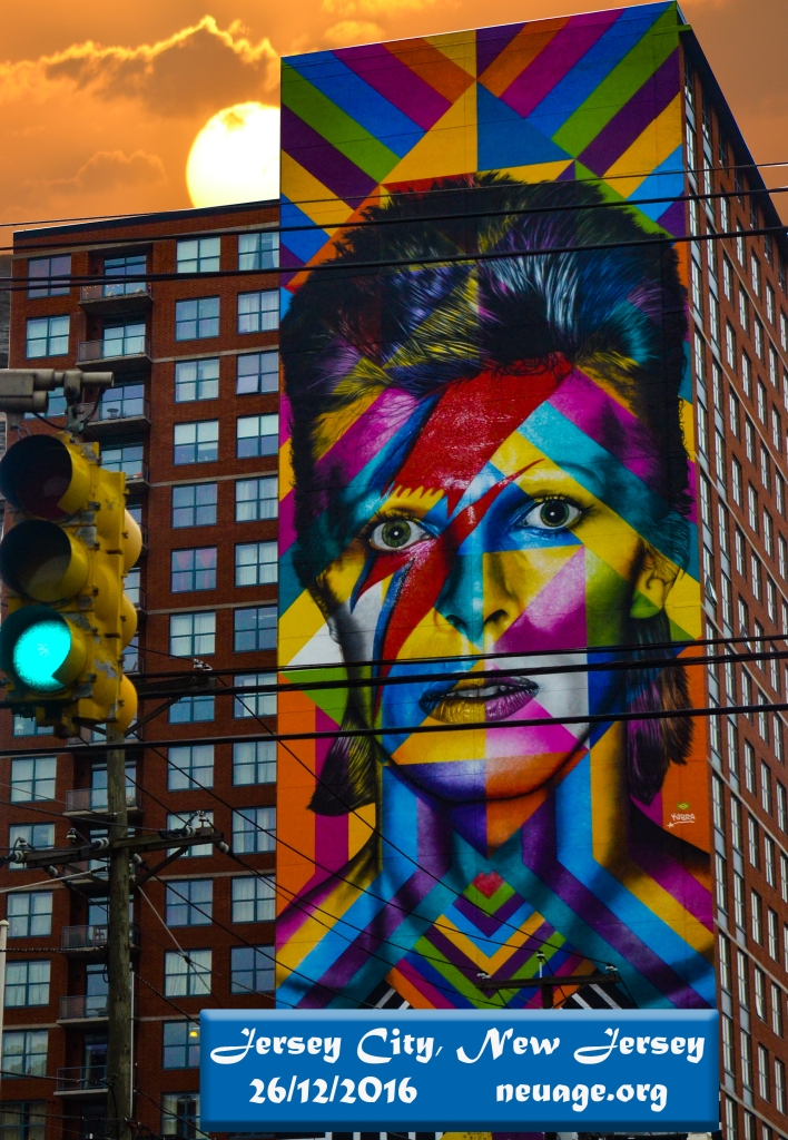 David Bowie on building Hoboken, New Jersey