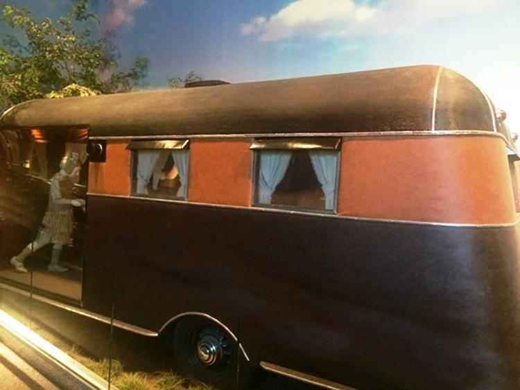 1930s caravan at the Museum of Natural History, Washington DC