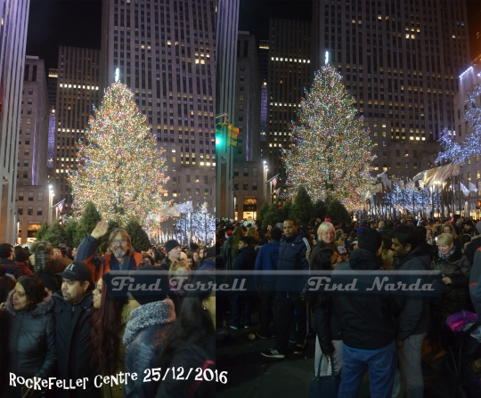 Rockefeller Centre Christmas Tree 2016