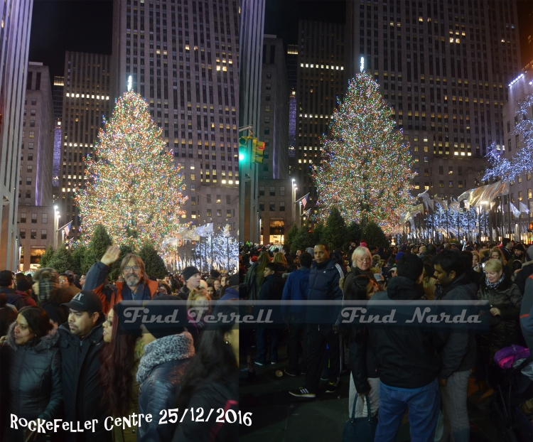 Rockefeller Centre Christmas Tree 2016