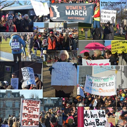 Amsterdam Womens March