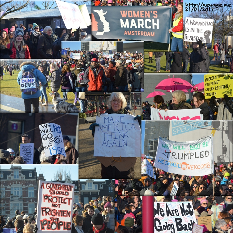 Amsterdam Womens March