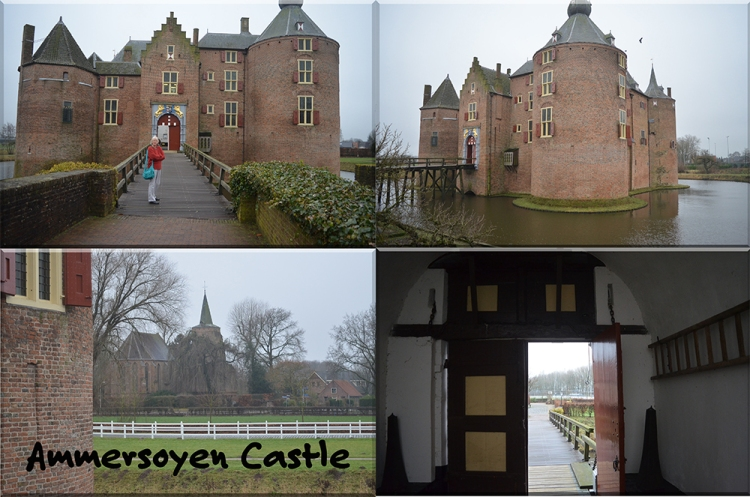 Castle Ammersoyen (in Ammerzoden in the Bommelerwaard region in the province of Gelderland)