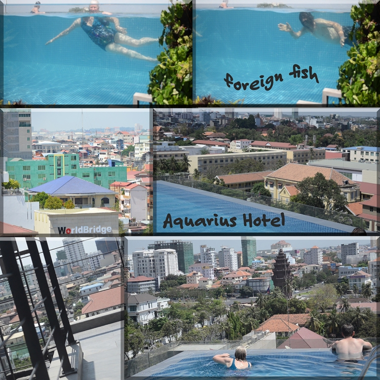 Aquarius Hotel rooftop pool