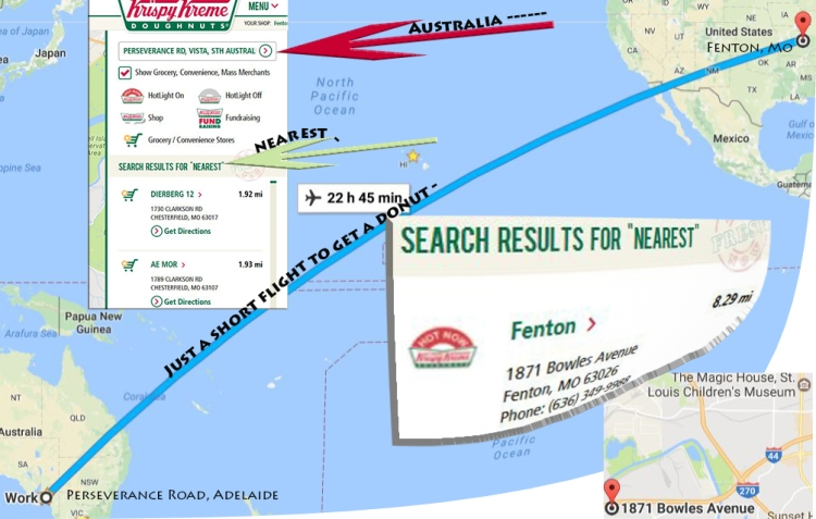 Krispy Kreme location finder