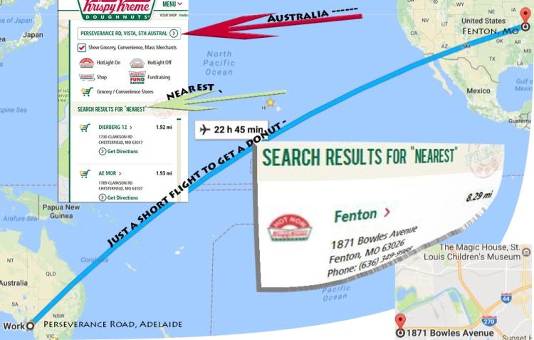 Krispy Kreme location finder