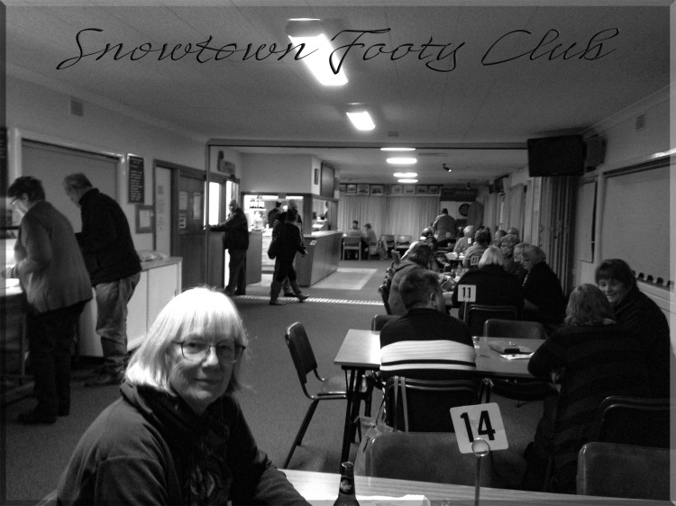 Dot's Kitchen every Saturday night @ the Snowtown Footy Club