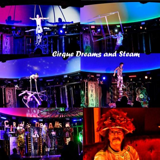 Cirque Dreams and Steam