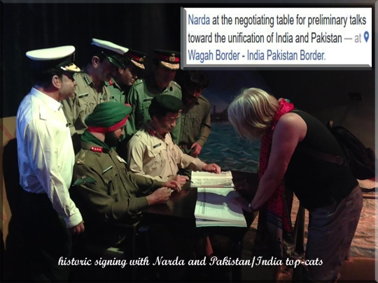 Dr terrell neuage i said what of course at the end of the day was the important signing of stuff between pakistan and india with narda negotiating the terms fandeluxe Gallery