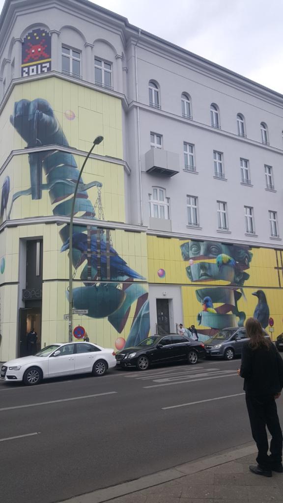 Berlin Urban Nation Museum September, 2018