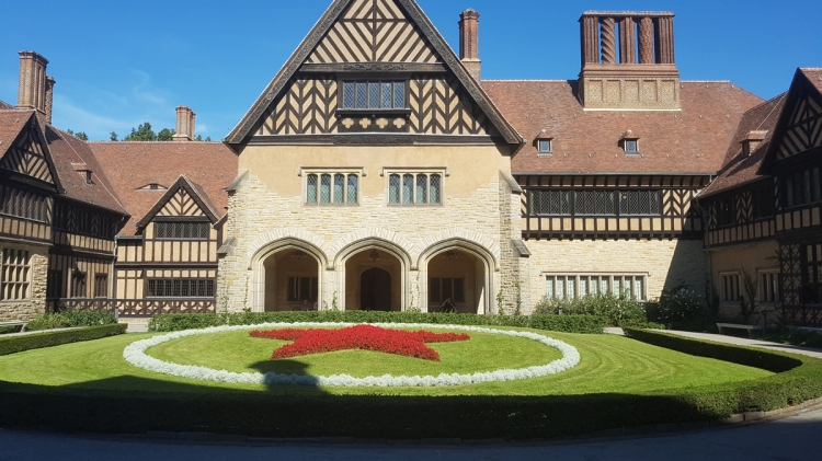 Site of the Potsdam Conference, at Cecilienhof. Where Stalin, Churchill, and Truman gathered to decide how to administer Germany in sthe summer of '45