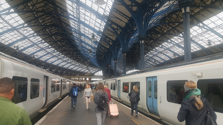 Brighton rail station - a really cool place