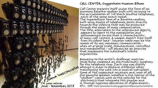 'Call Center ' Joana Vasconcelos, Guggenheim Museum
