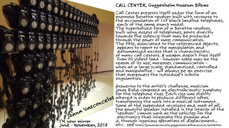 'Call Center ' Joana Vasconcelos, Guggenheim Museum