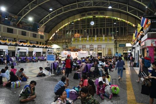 Hua Lamphong, or Bangkok Train Station