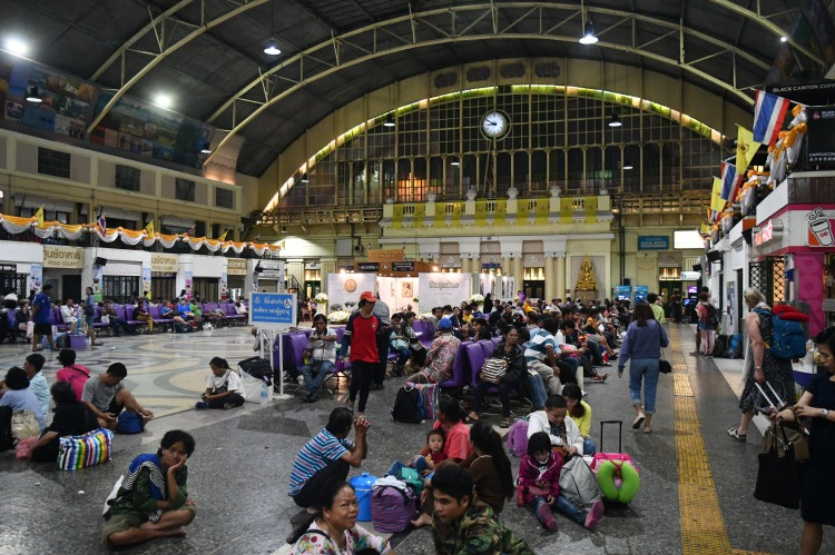Hua Lamphong, or Bangkok Train Station