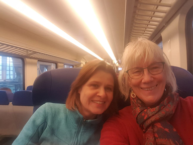 Mau from Hamburg - Narda's friend since meeting at a music conference in Budapest 40 years ago