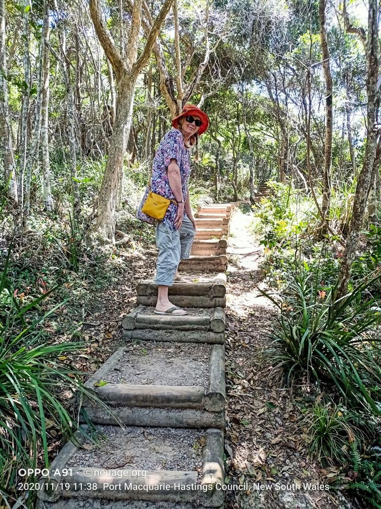 to Shelly Beach, Port Macquarie