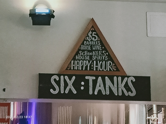 Six Tanks, a micro-brewery bar