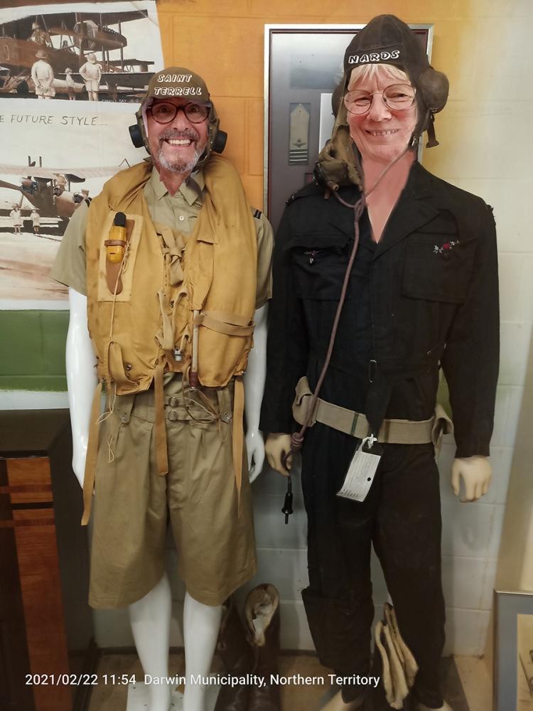 Darwin Aviation Museum: two crazy pilots